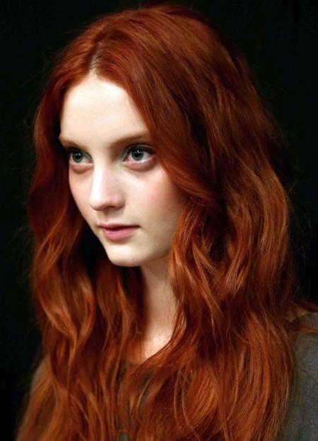Рыжие волосы как сделать темнее