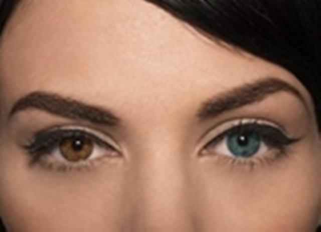 Как можно из карих глаз сделать голубые глаза 197