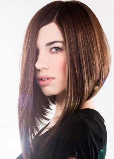 Причёска боб на тонкие волосы фото
