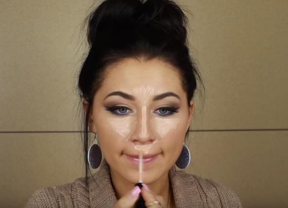 контурирование круглого лица пошаговая инструкция фото - фото 8