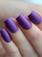 Как сделать матовые ногти?