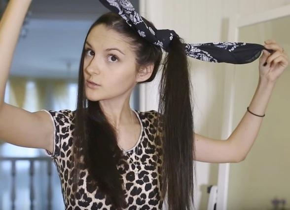 Накрутить волосы перед сном