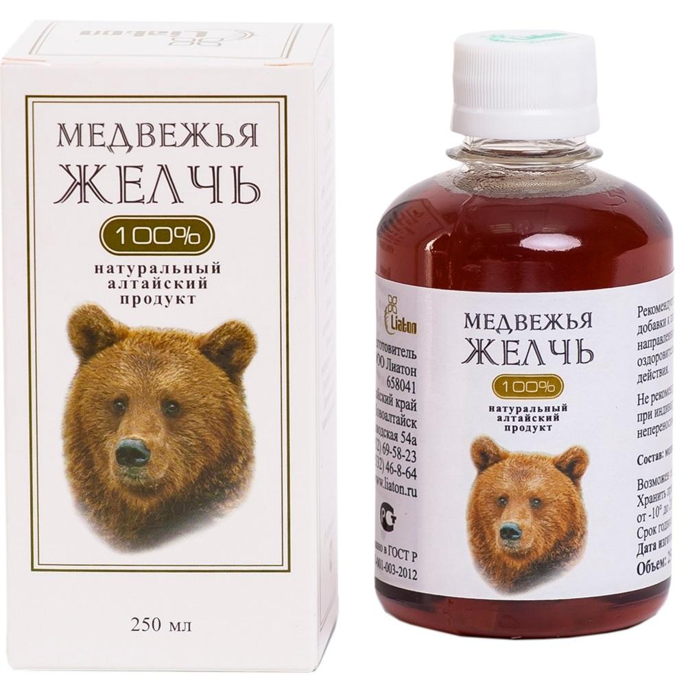Настойка из медвежьей желчи как принимать