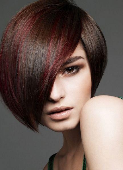 Колорирование волос коротких