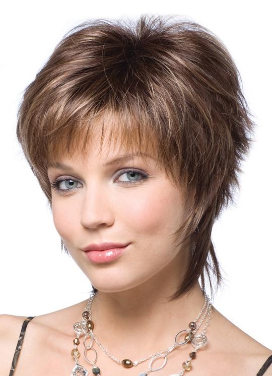 Стрижка на густые короткие волосы фото