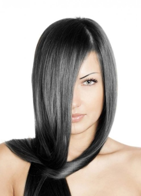 Черный пепельный краска для волос