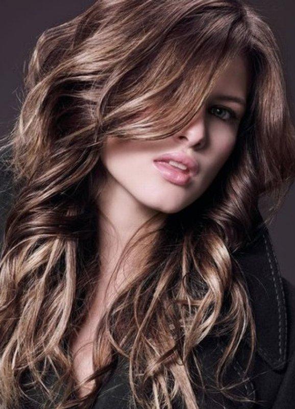 Эффект натурально выгоревших волос