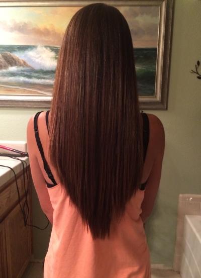 лисий хвост стрижка фото на короткие волосы