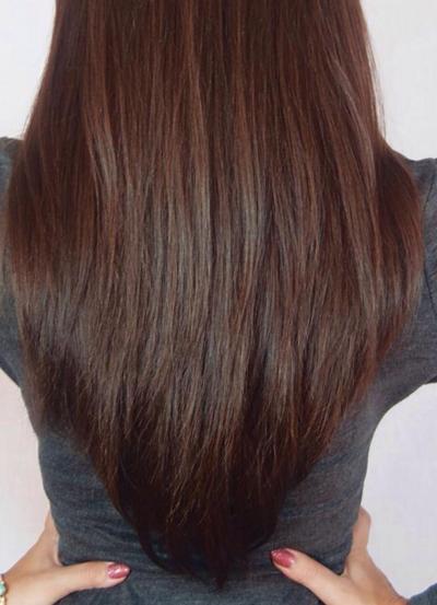 стрижка на длинные волосы лисий хвост