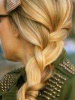 Коса колосок – все версии модного плетения