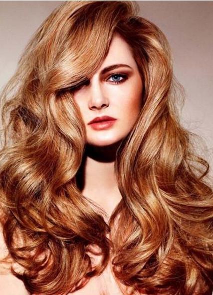 Цвет волос карамельный блонд фото