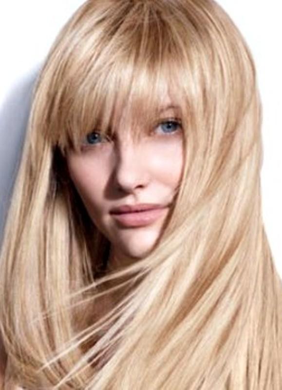 Жемчужный блонд фото волос