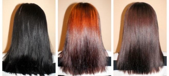 как убрать черную краску с волос