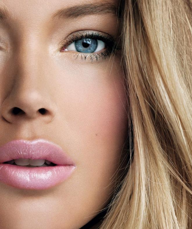 Макияж для блондинок с голубыми глазами 2