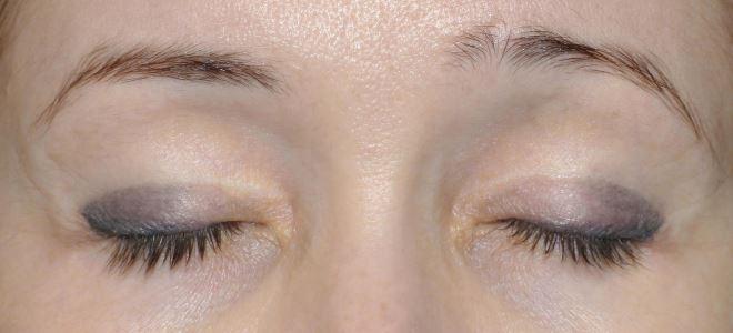 перманентный макияж век тени