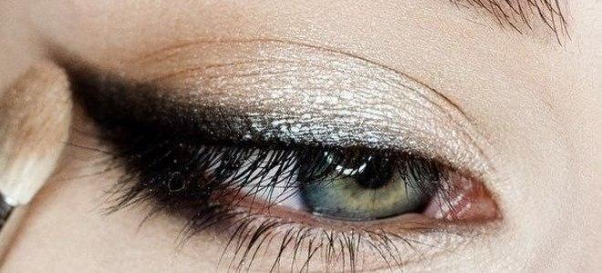 пошаговый макияж для голубых глаз 3