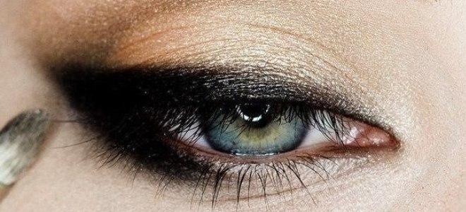 пошаговый макияж для голубых глаз 5