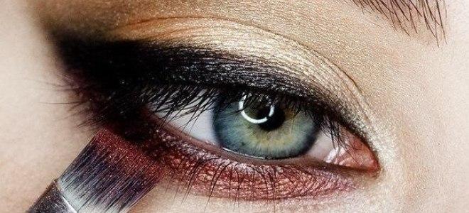 пошаговый макияж для голубых глаз 6