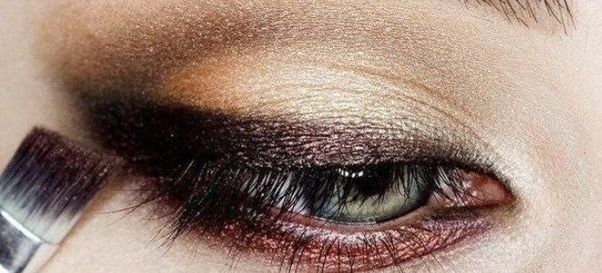 пошаговый макияж для голубых глаз 7