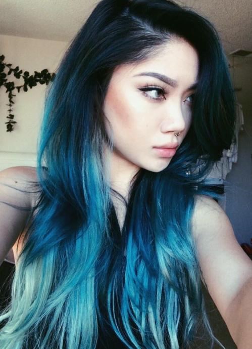 Избавиться от синего цвета волос