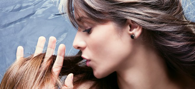 Как осветлить окрашенные волосы в домашних условиях - d7a3