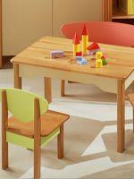 Детский стол и стульчик от 1 года
