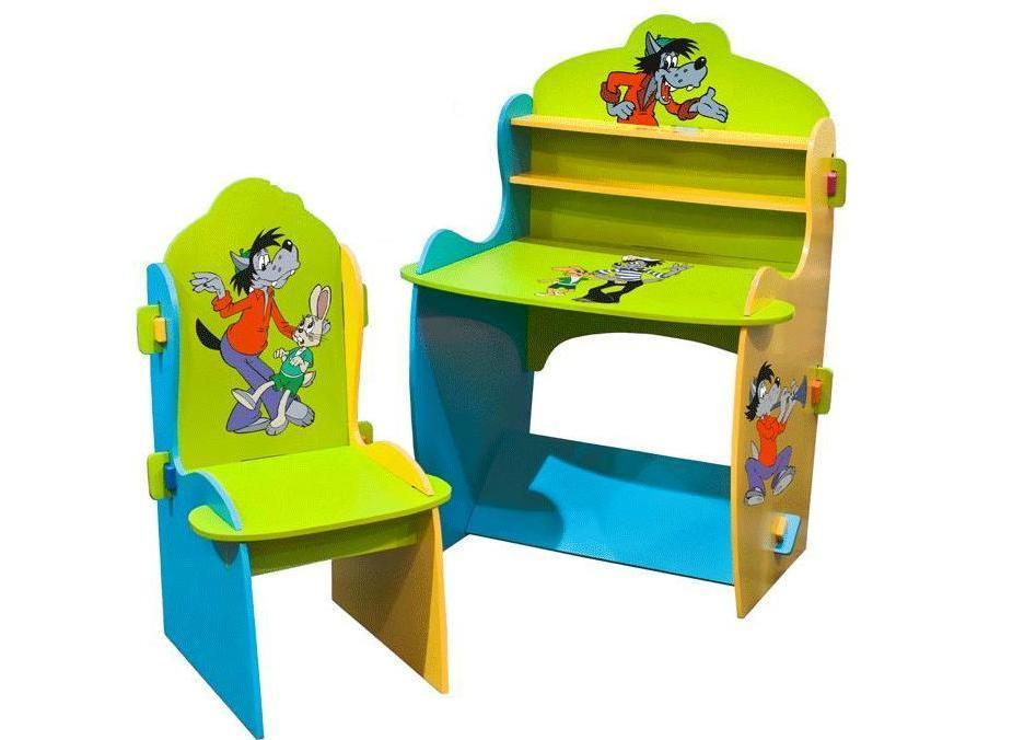 Детские столы и стулья для детей от 1 до 3 лет