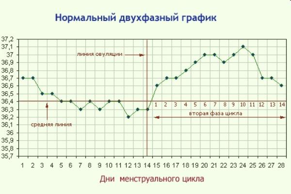 Низкая температура на ранних сроках беременности