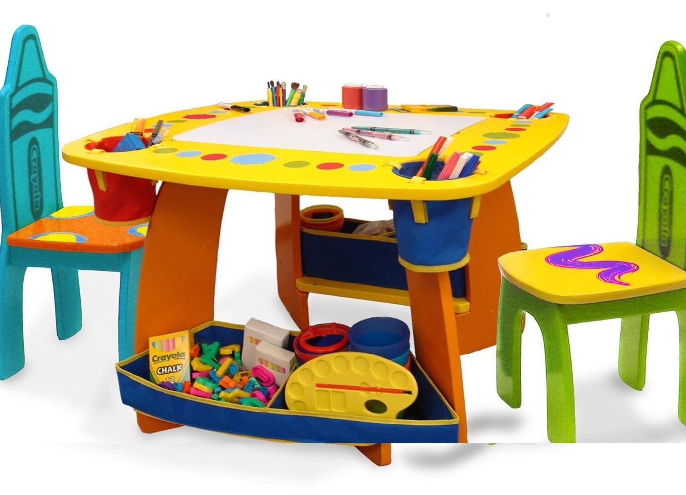 Столы и стулья для детей от 2 лет