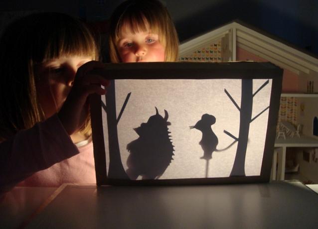 Театр теней фото своими руками
