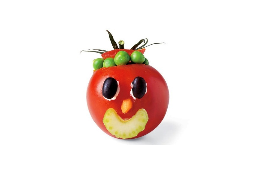 Все поделки из помидора