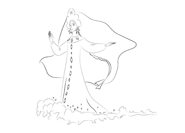 Как нарисовать рисунок к сказкам пушкина поэтапно