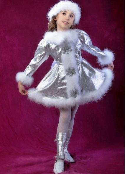 Новогодние детские платья с фото