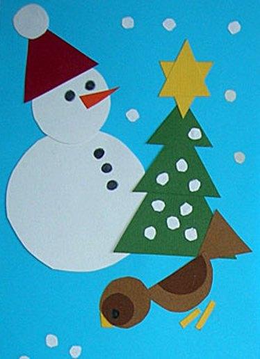 Новогодние поделки для детей 6-7 лет