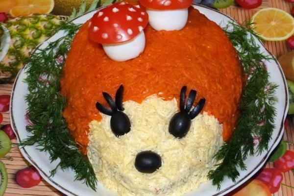 Рецепты салатов с на день рождения детей