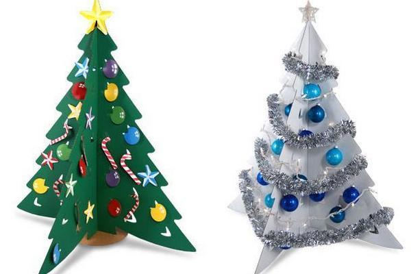 Поделки новогодние своими руками на елку