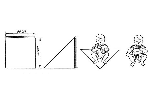 Одноразовый подгузник как сделать 984