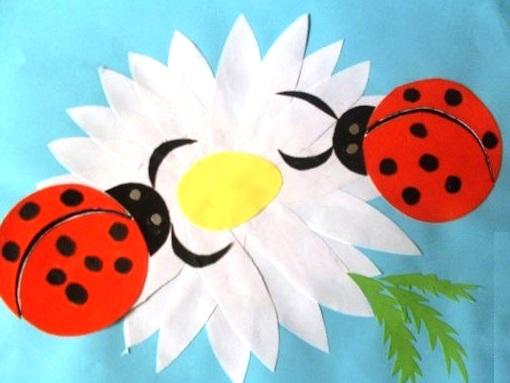Поделка из бумаги для детей весна