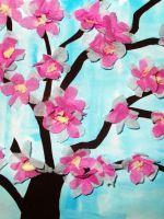 Аппликация на тему «Весна» в детский сад