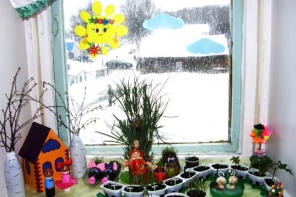 Как украсить уголок природы в детском саду своими руками фото 629