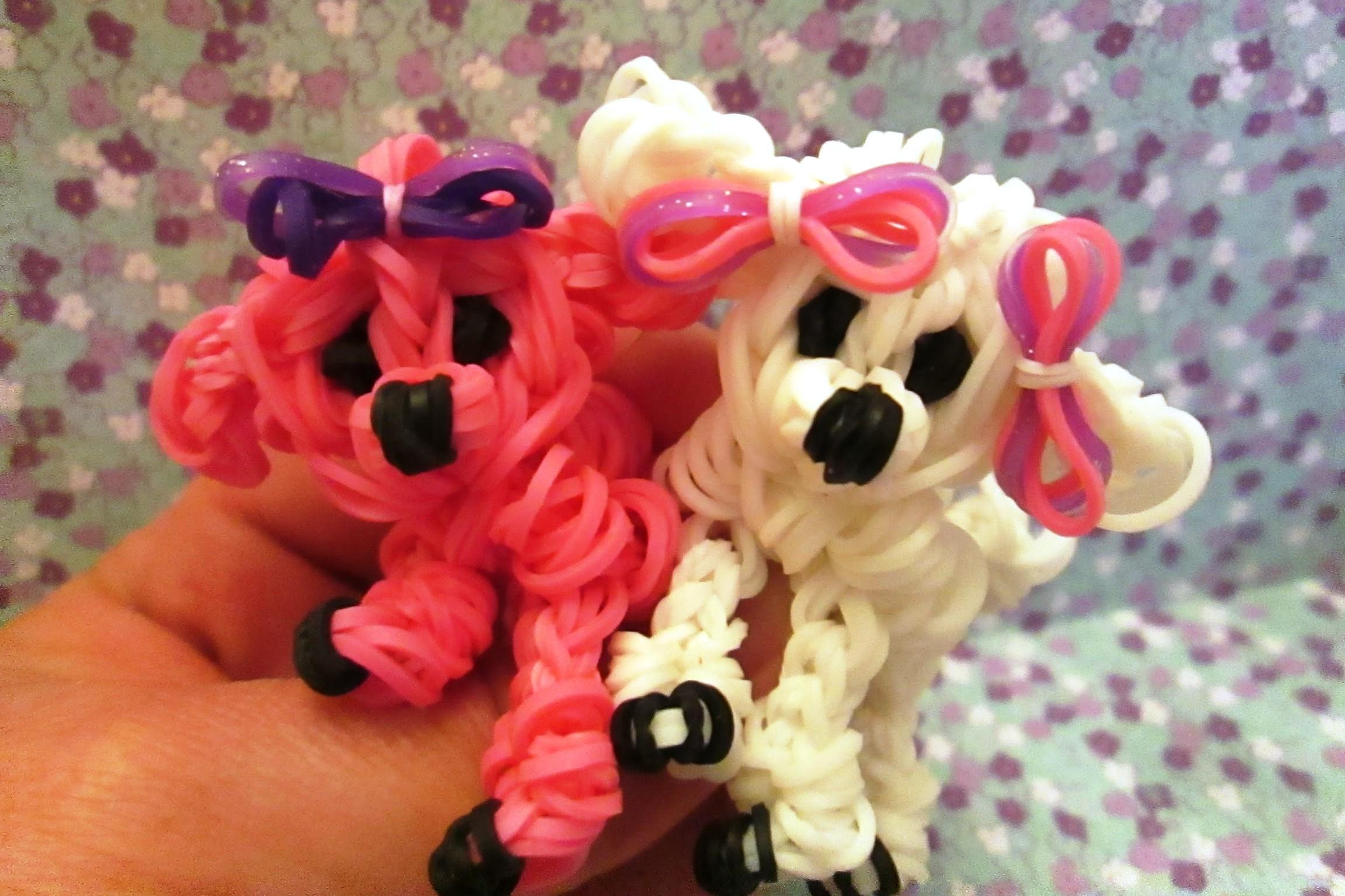 Плетение из резинок на станке фигурки животных