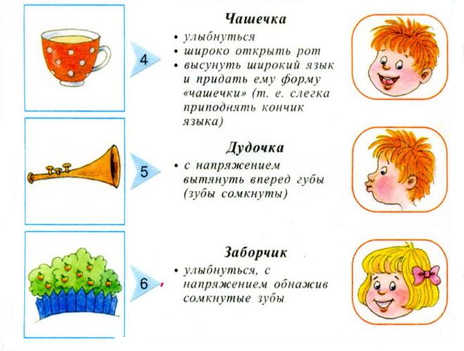 Логопедические упражнения для детей 3-4 лет в домашних условиях 587
