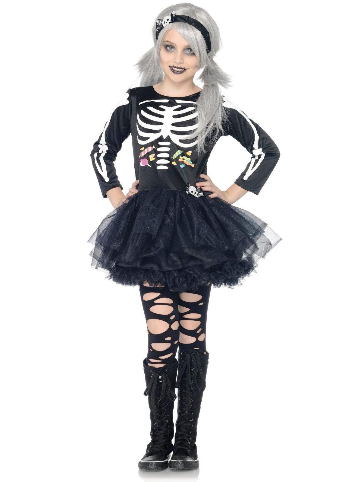 Костюм на хэллоуин своими руками для девочек 11