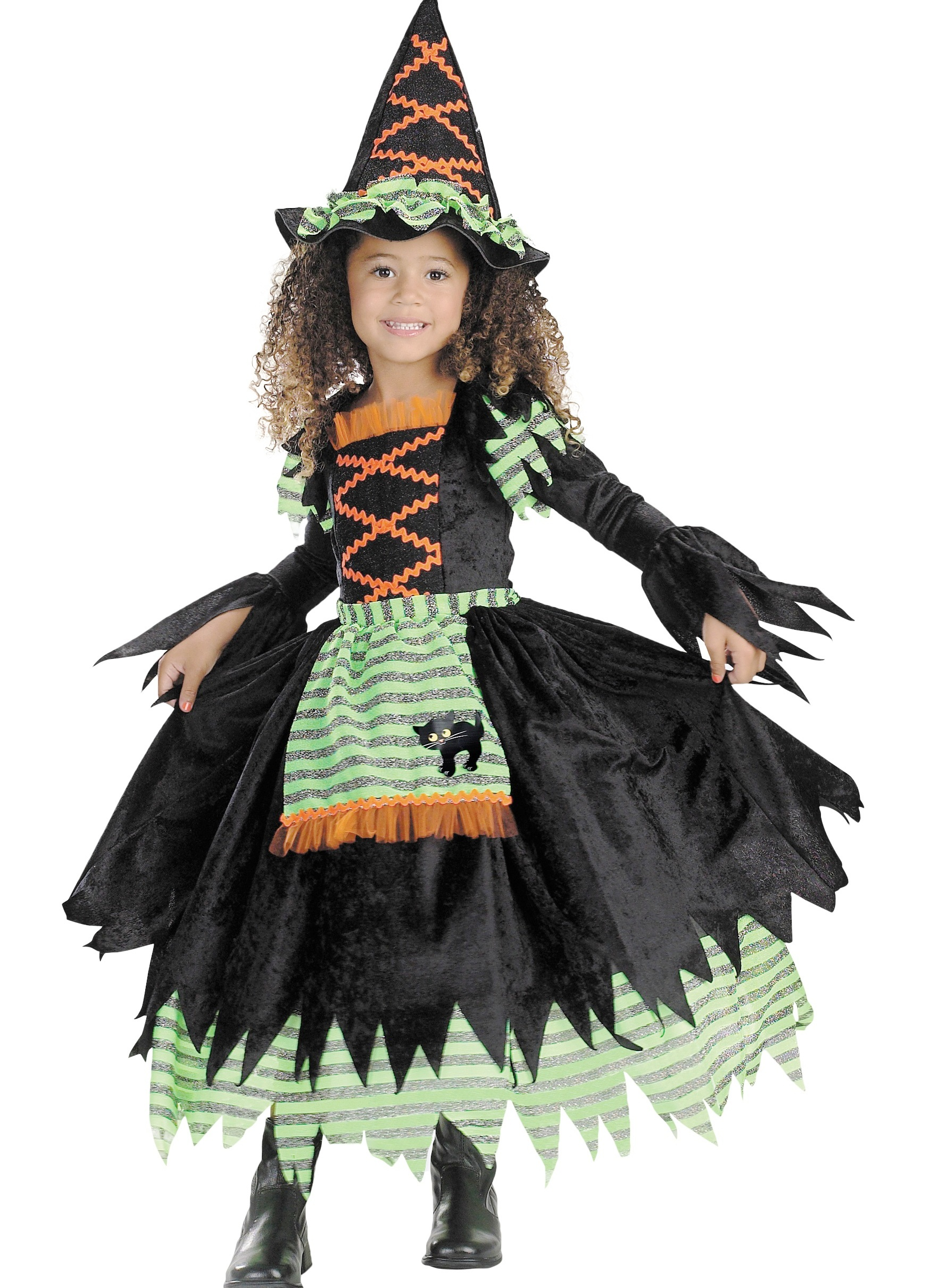Как сделать костюм ведьмочки своими руками
