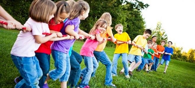 Игры для детей в летнем лагере