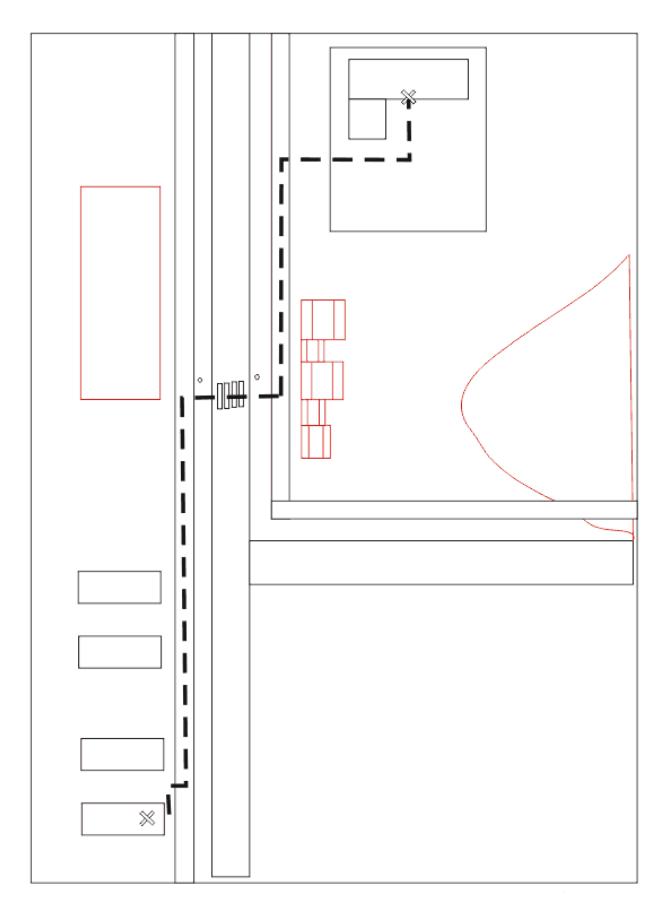 Как нарисовать маршрут от дома до школы4