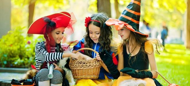 костюм на хэллоуин для девочки своими руками
