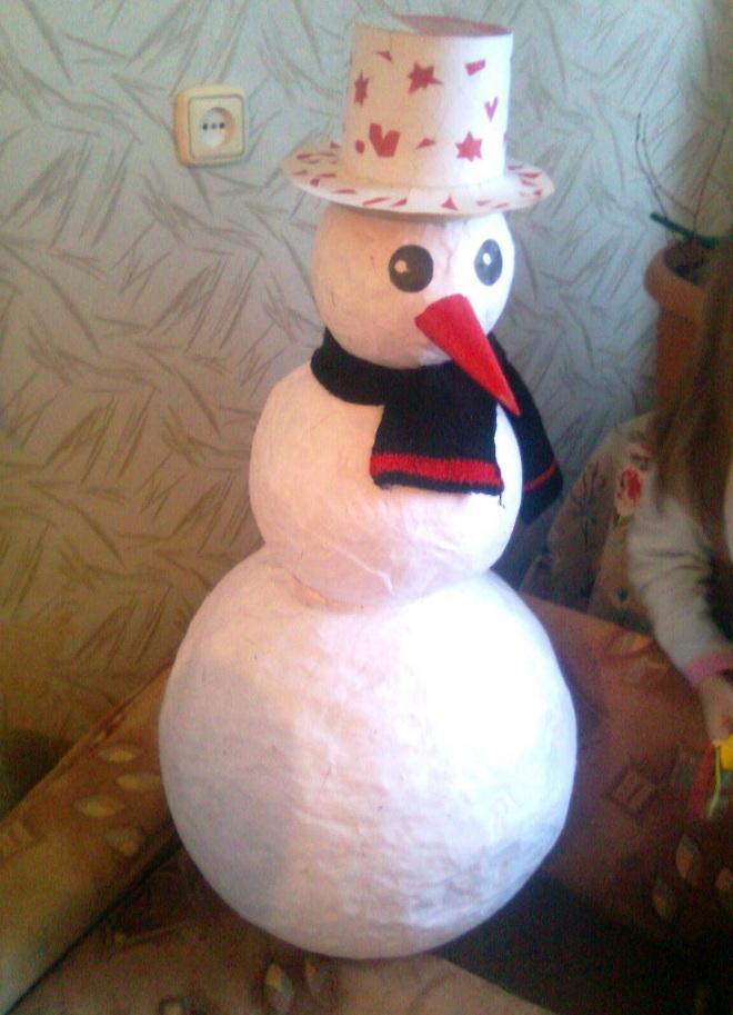 праздников для сделать снеговика из ваты периоды
