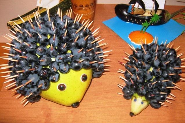 Поделки из фруктов своими руками для школы фото