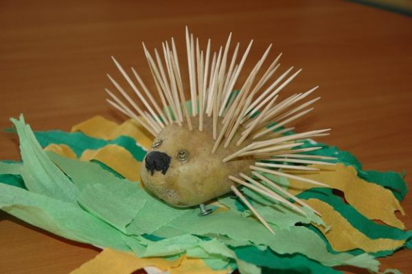 Поделка из картошки для детского сада